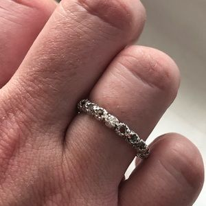 Gucci diammantissima 18k White gold ring w diam